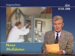YouTube Video (ARD, 07. Mai 1986, 00:00:48) Die Tagesschau zum THTR-Störfall - https://www.youtube.com/watch?v=FTA44fuTX44