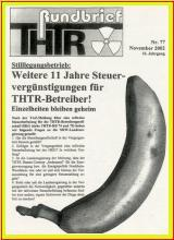 THTR Rundbrief Nr. 77 Nov. 2002